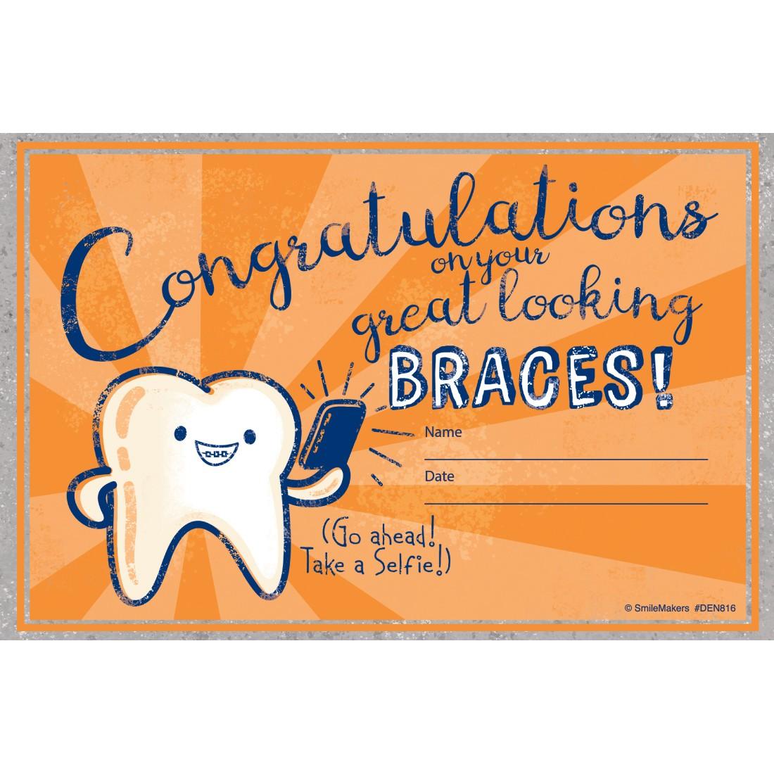 Congratulations on Braces Awards [image]