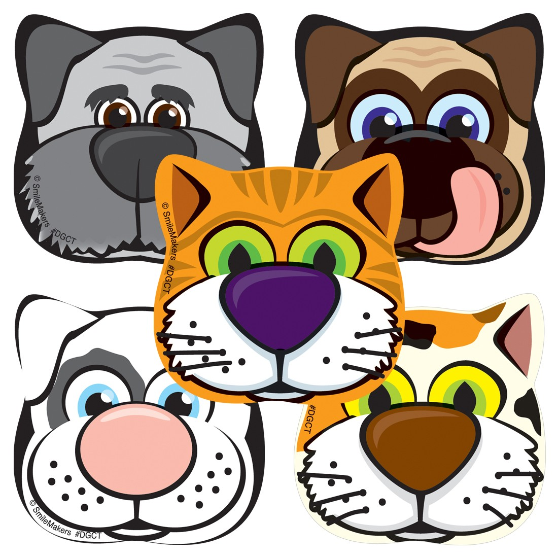 animal shapes stickers shaped stickers from smilemakers