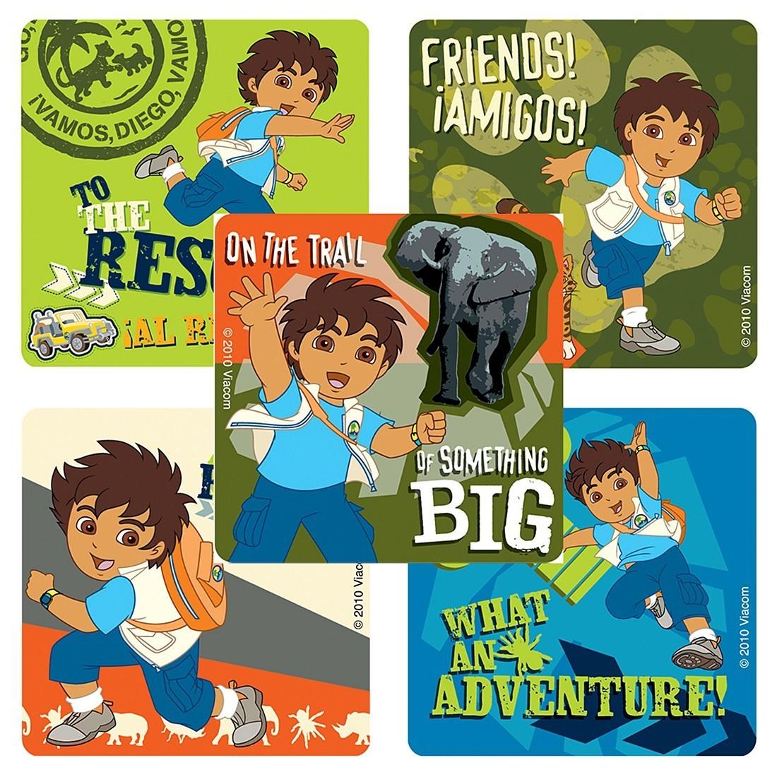 Go, Diego™ Go! Stickers