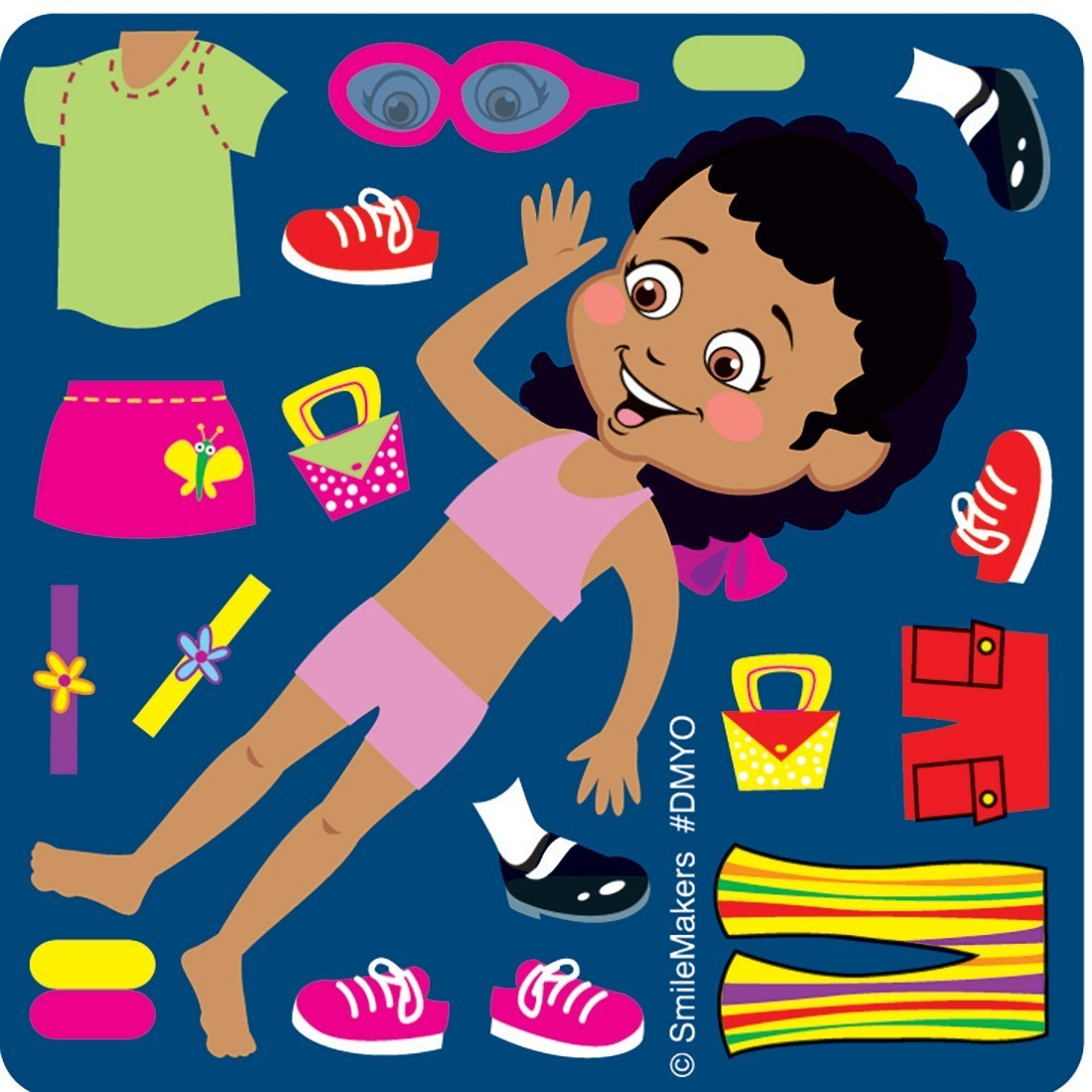 make your own dress up girl stickers make your own stickers from