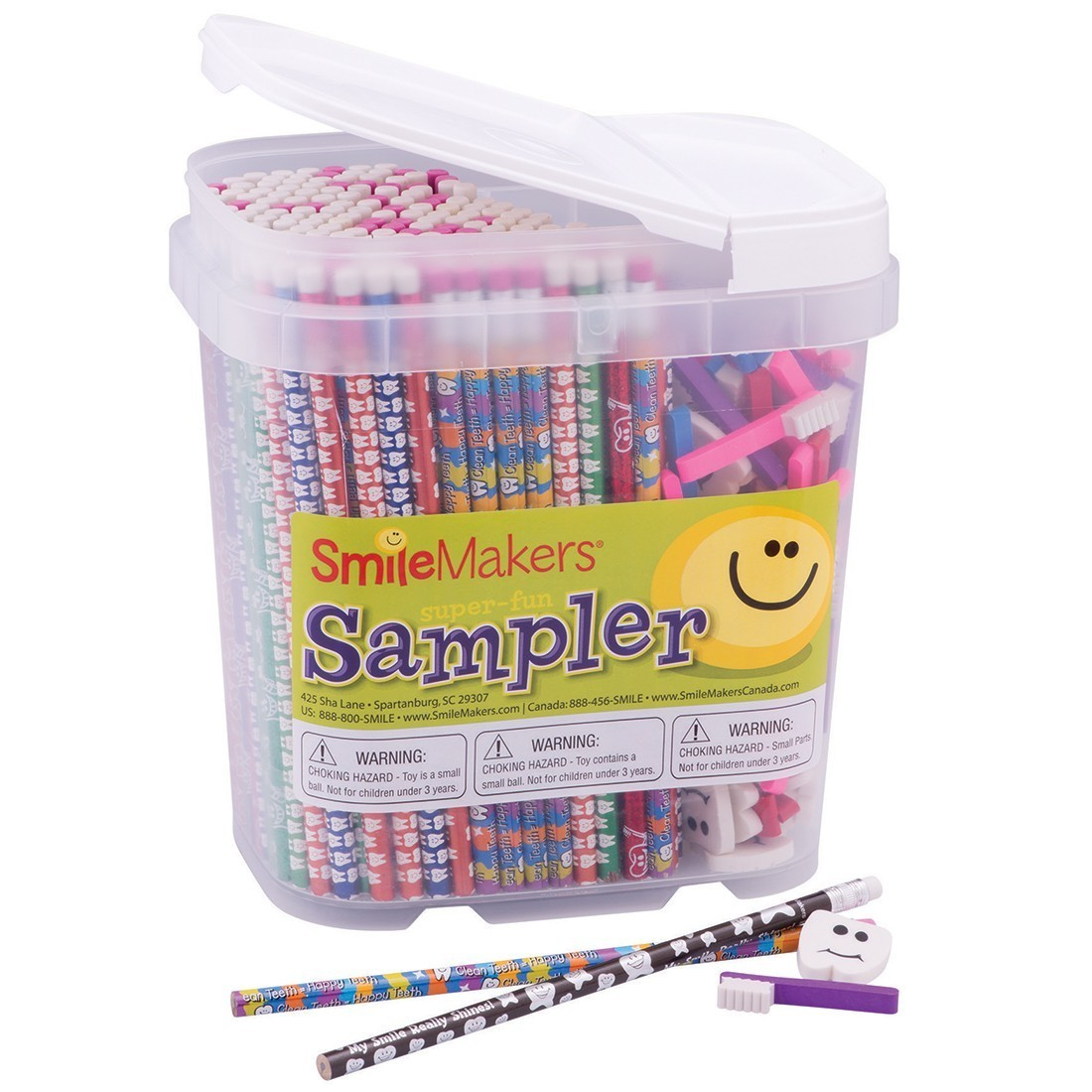 Dental Pencil & Eraser Sampler [image]