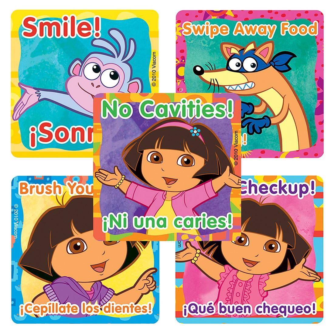 Dora the Explorer Dental Stickers                  [image]
