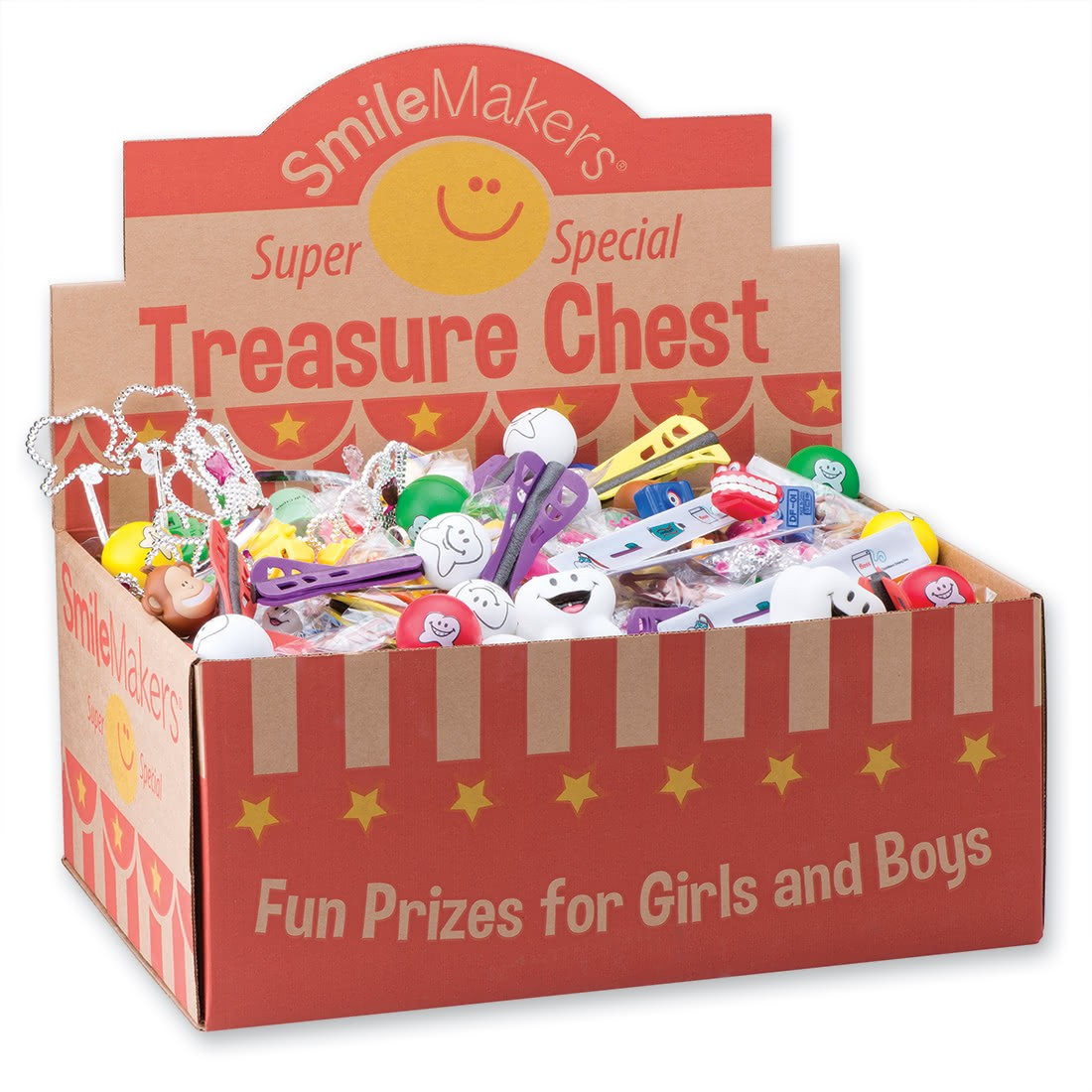 Super Sized Value Dental Toy Treasure Chest [image]