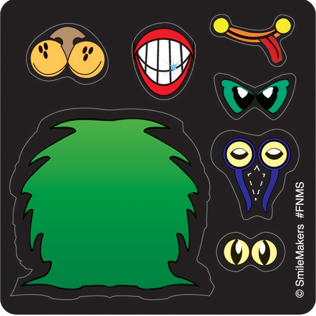 Make Your Own™ Monster Stickers               [image]