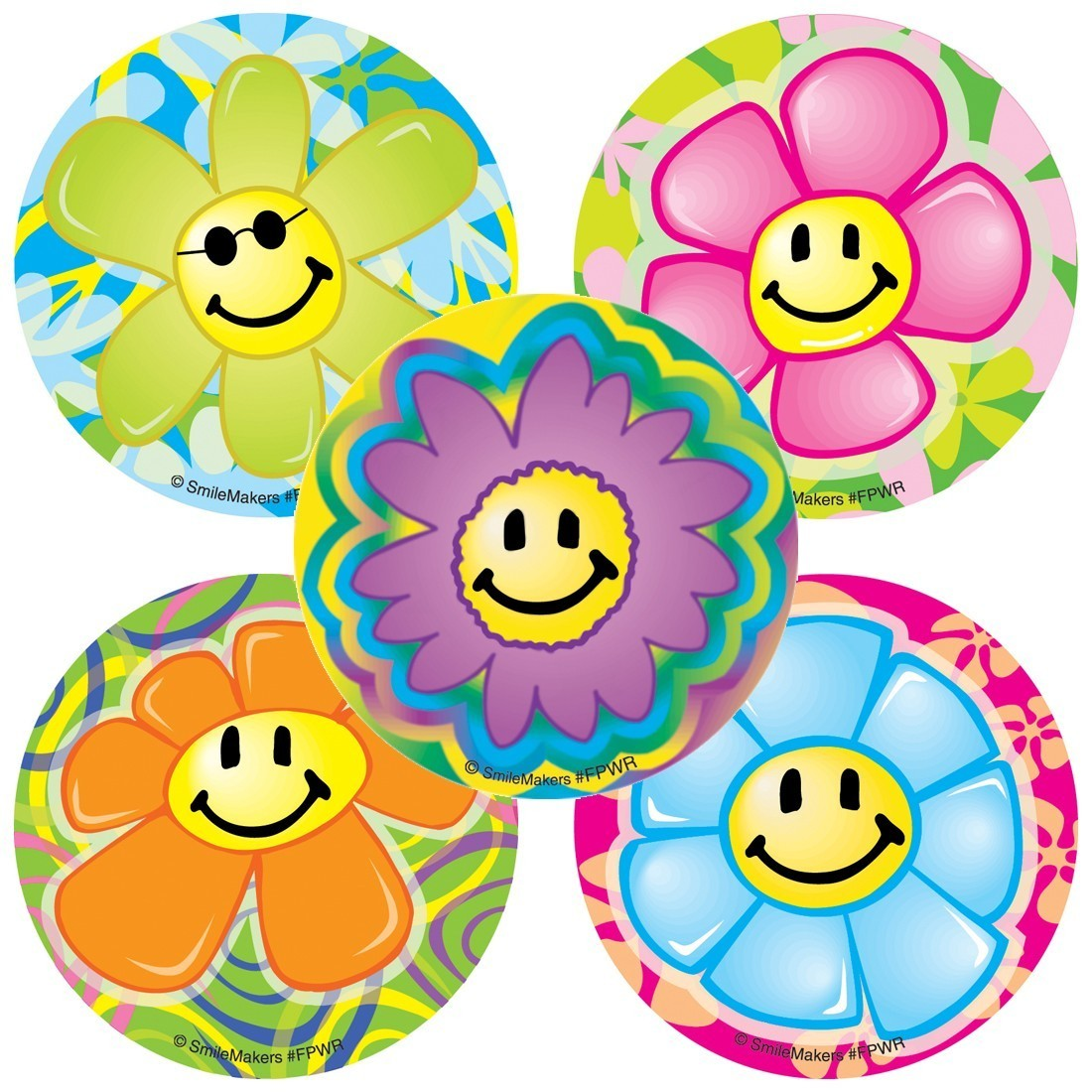 Flower Power Stickers                              [image]