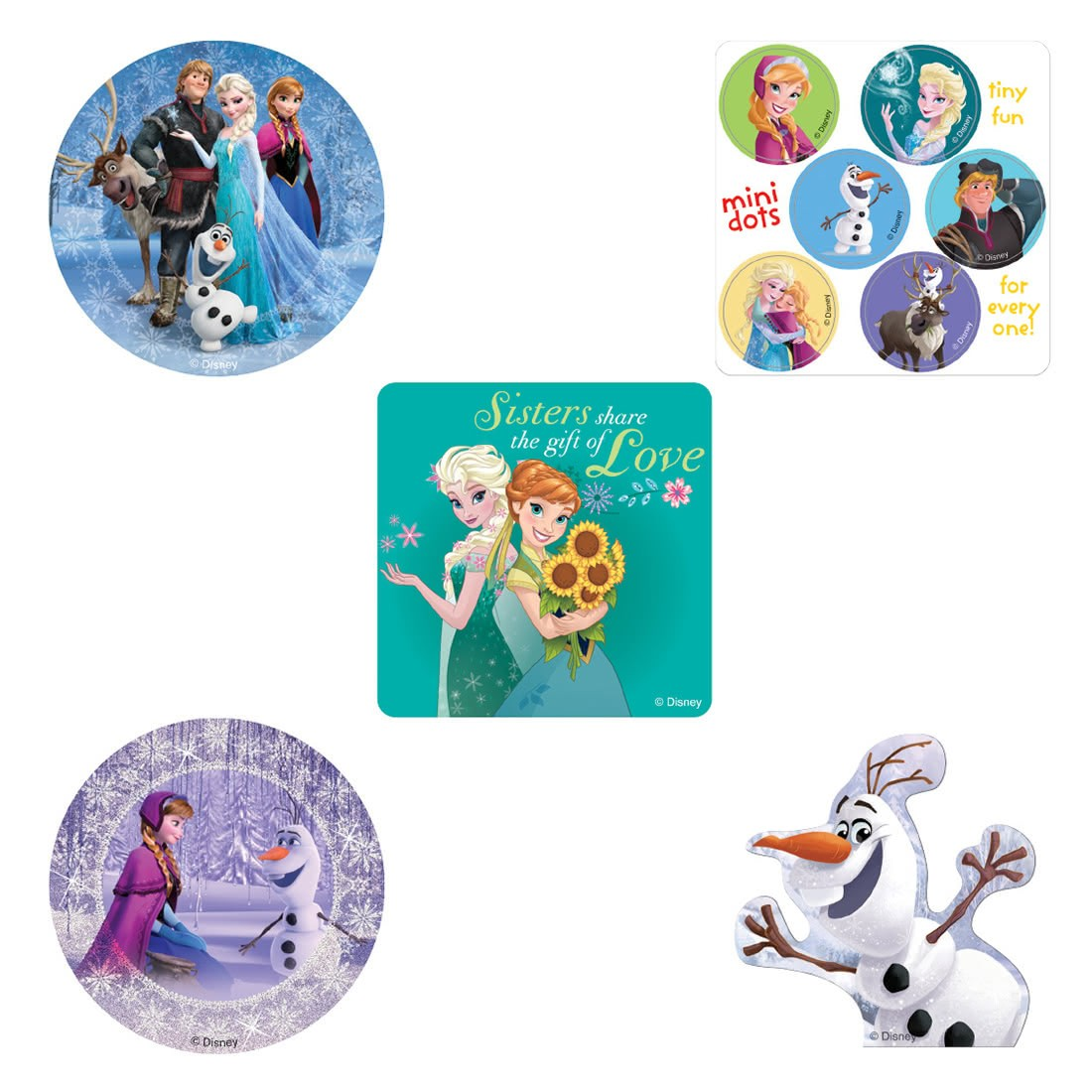 Frozen Sticker Bundle                              [image]