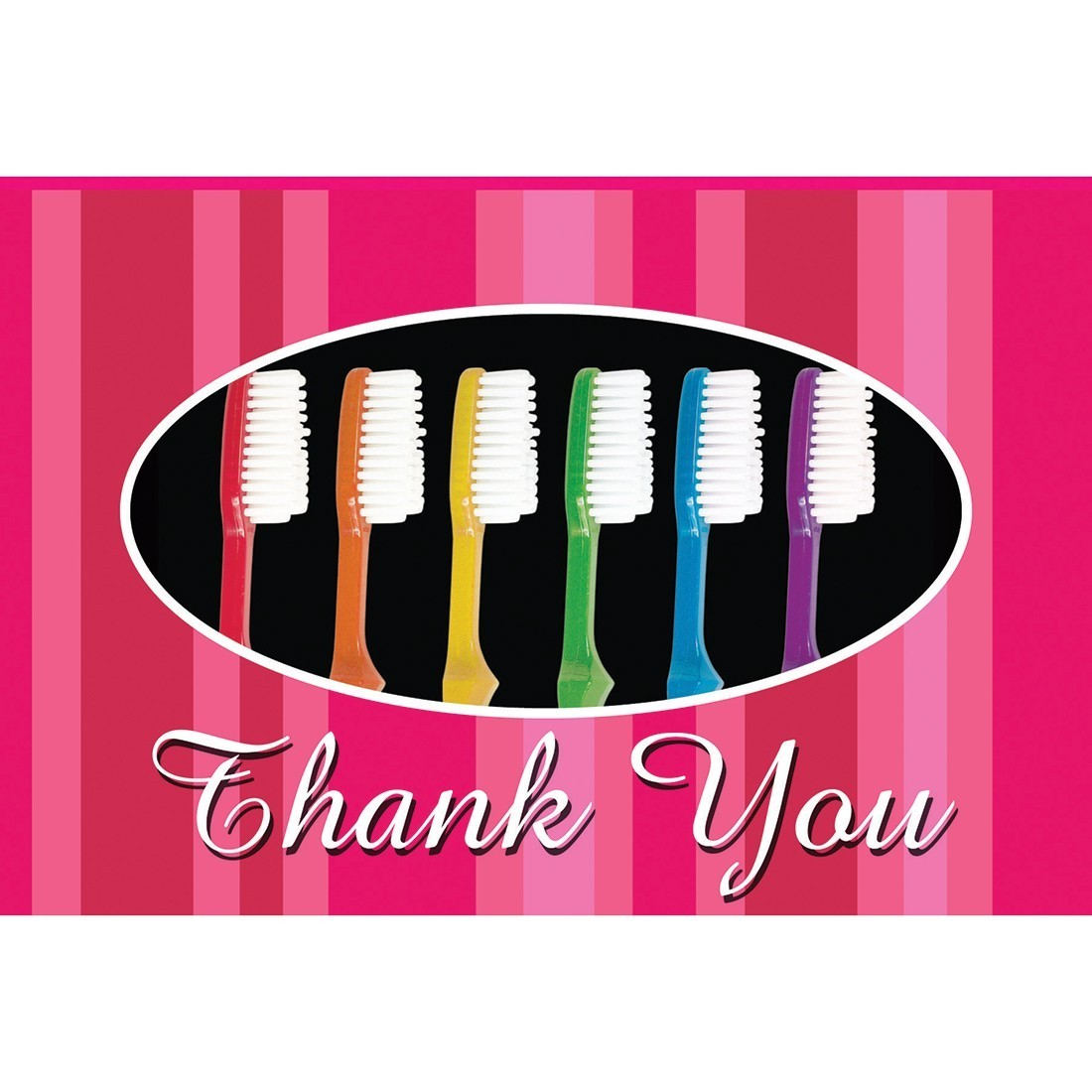 Thank You Toothbrush Greeting Cards Dental Greeting Cards From