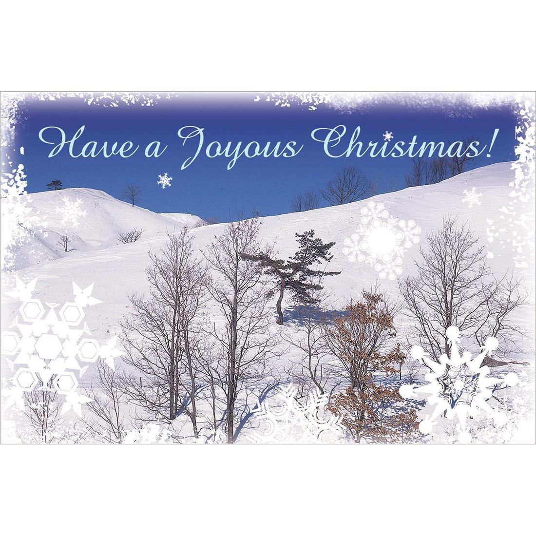 Joyous Christmas Greeting Cards [image]