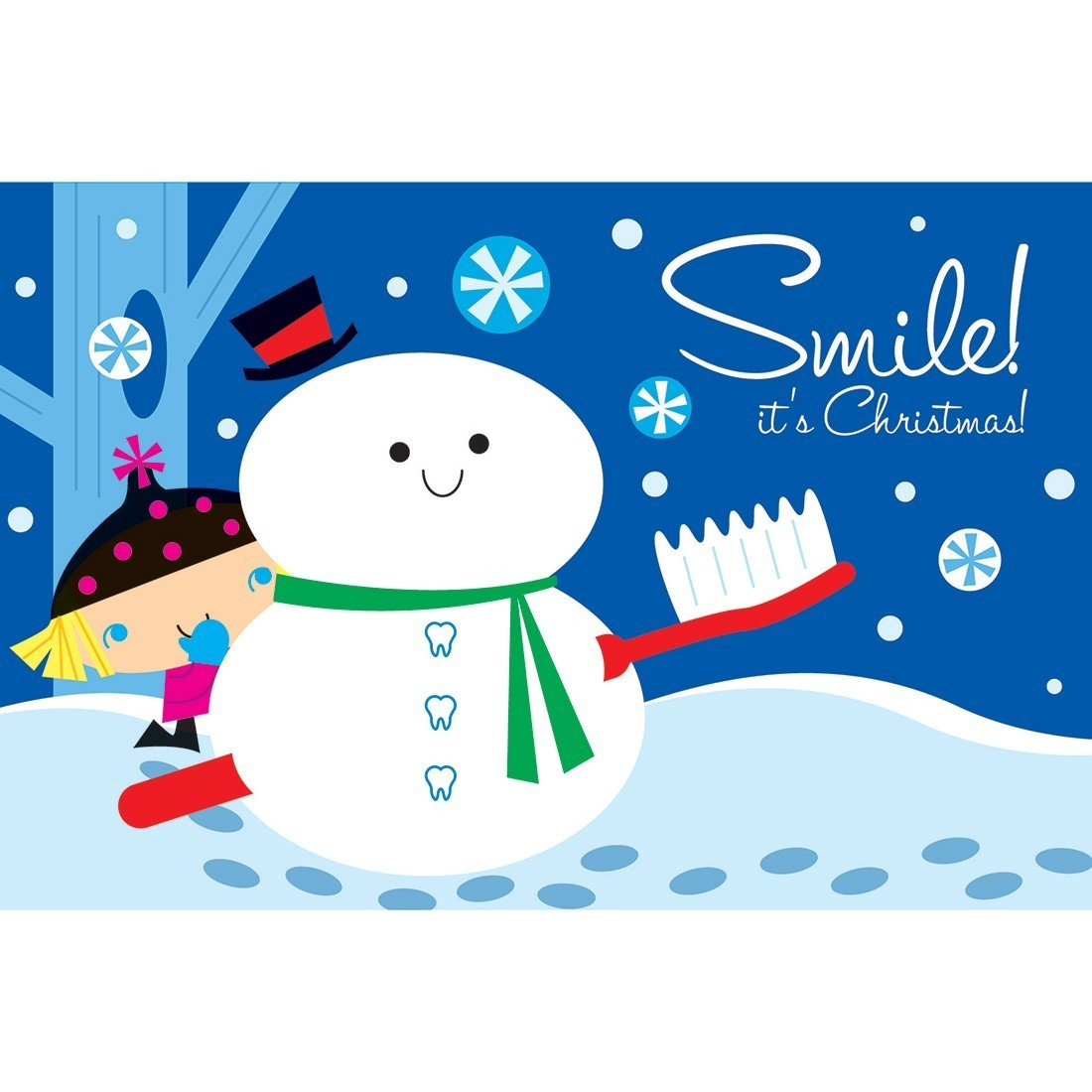 Smile It's Christmas Greeting Cards [image]
