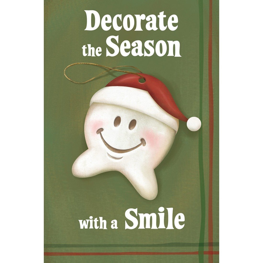 Happy Tooth Ornament Greeting Cards [image]