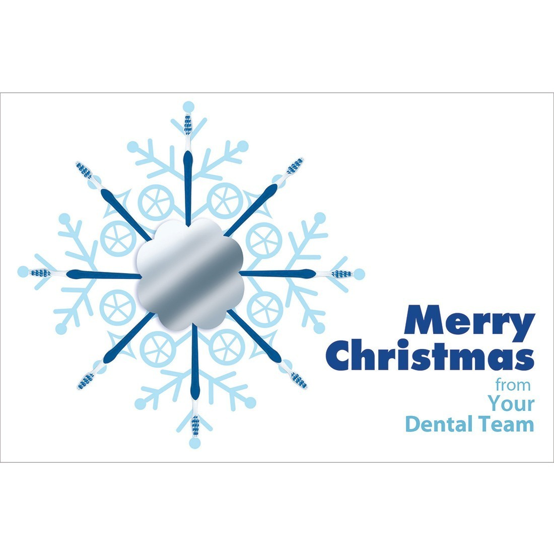 Merry Christmas Dental Team Greeting Cards [image]