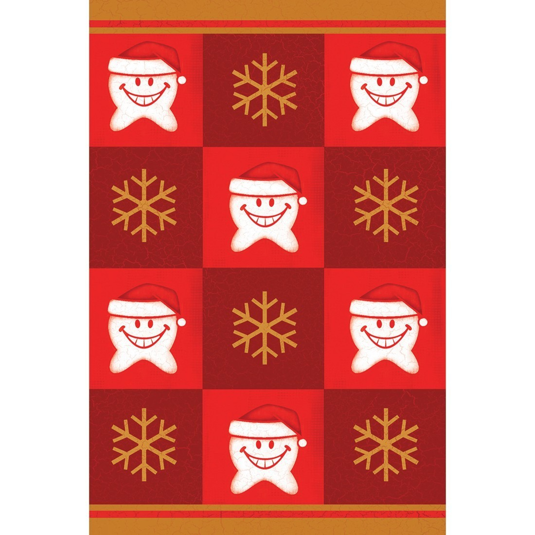 Scatter Tooth and Snowflake Greeting Cards [image]