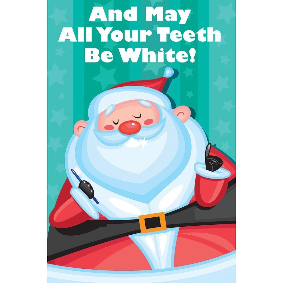 Santa's White Teeth Greeting Cards [image]