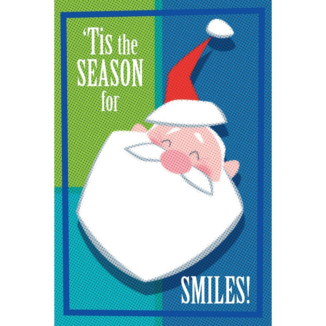 Santa Smiles Greeting Cards [image]