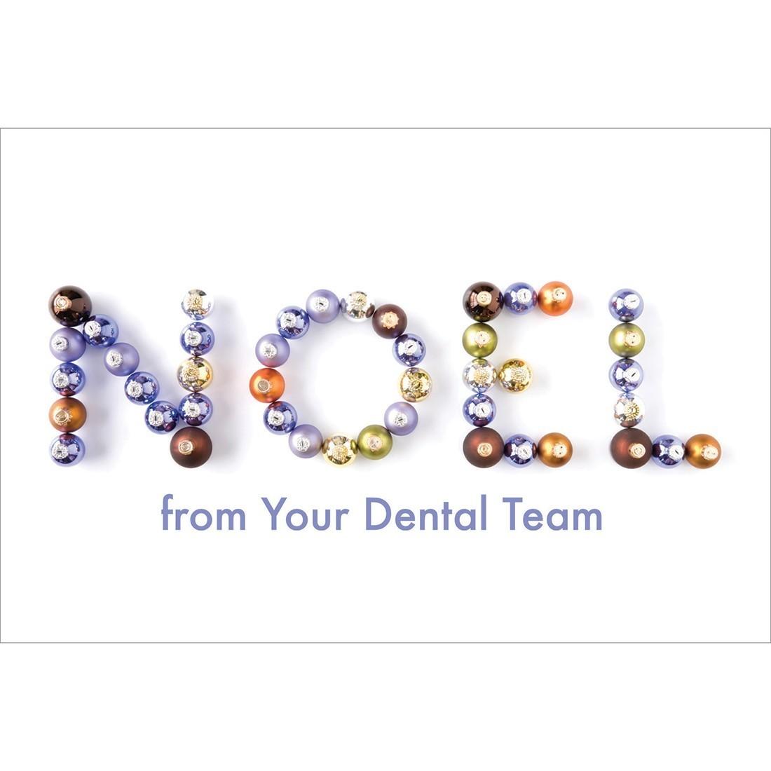 Noel Dental Team Greeting Cards [image]