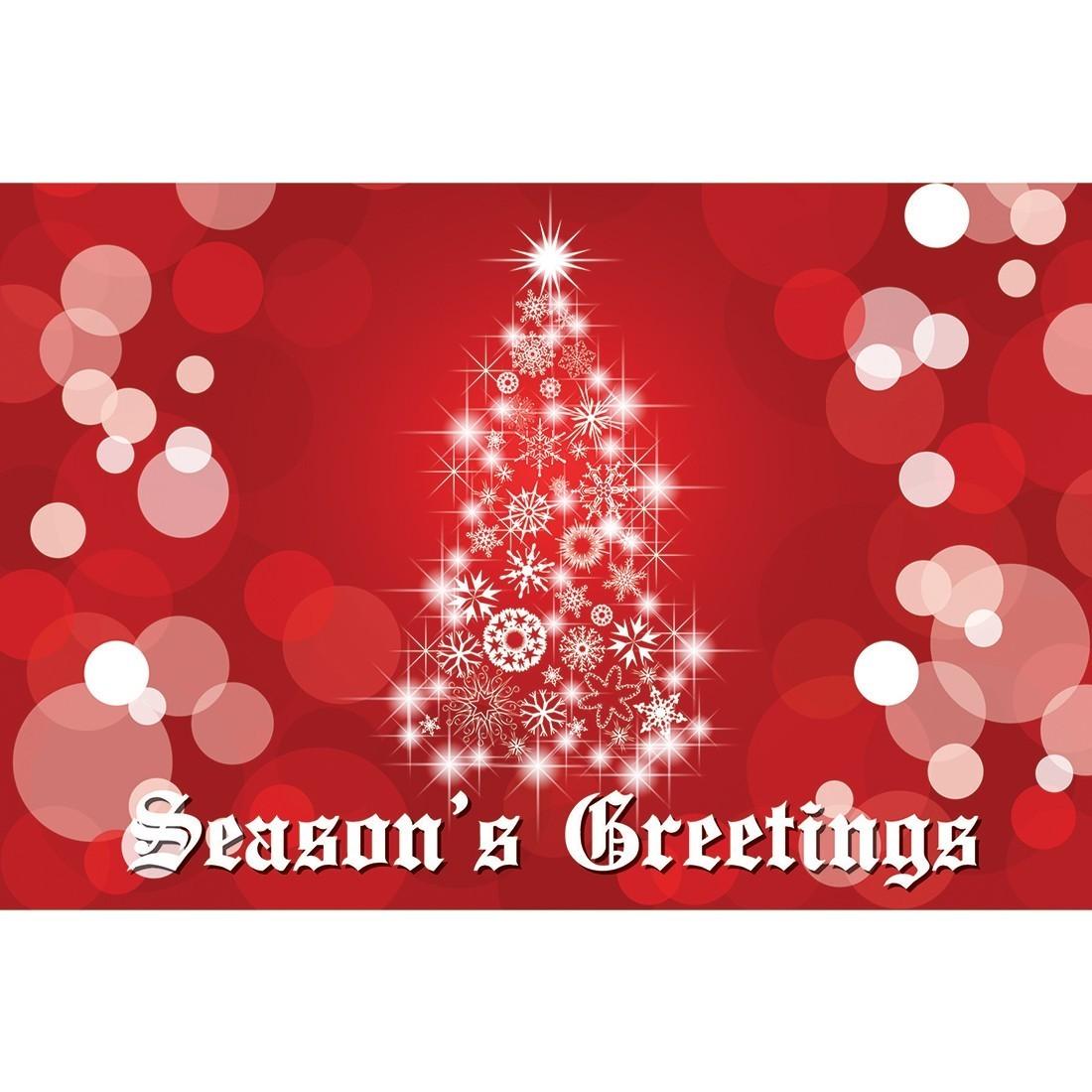 Seasons greetings greeting cards christmas greeting cards seasons greetings lit tree greeting cards m4hsunfo