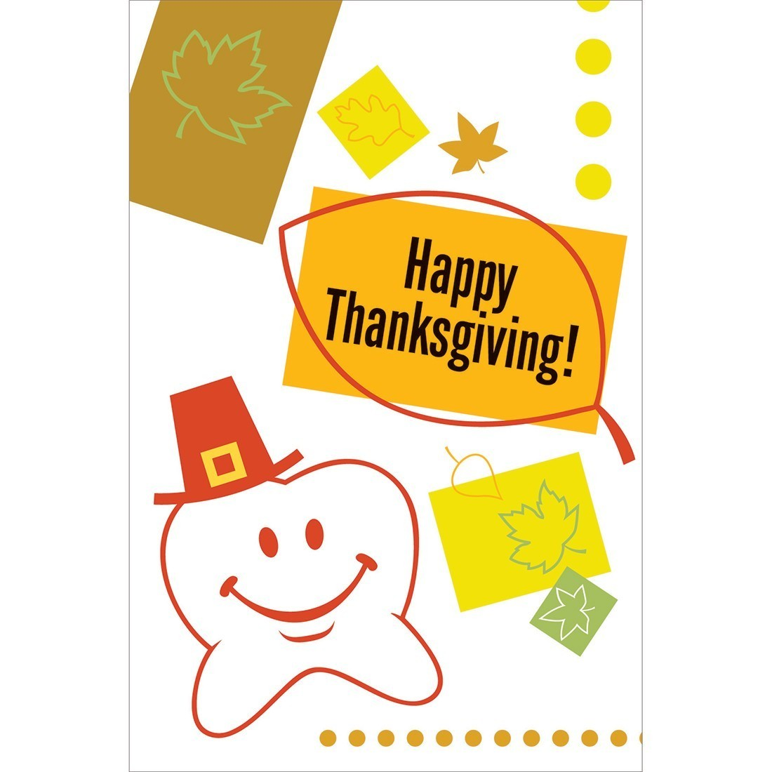 Happy Tooth Thanksgiving Greeting Cards [image]