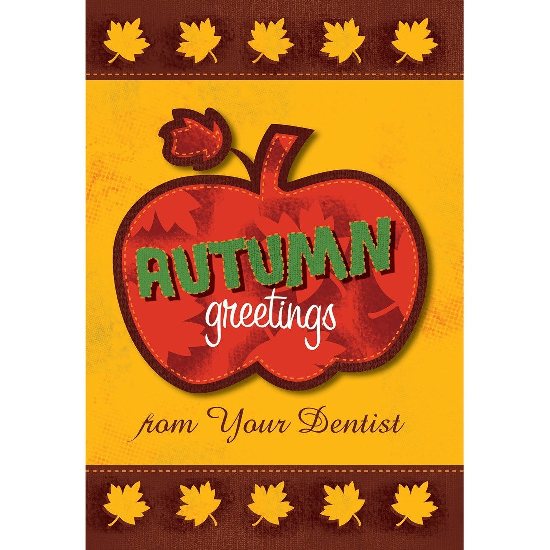 Autumn Greetings Pumpkin Greeting Cards [image]