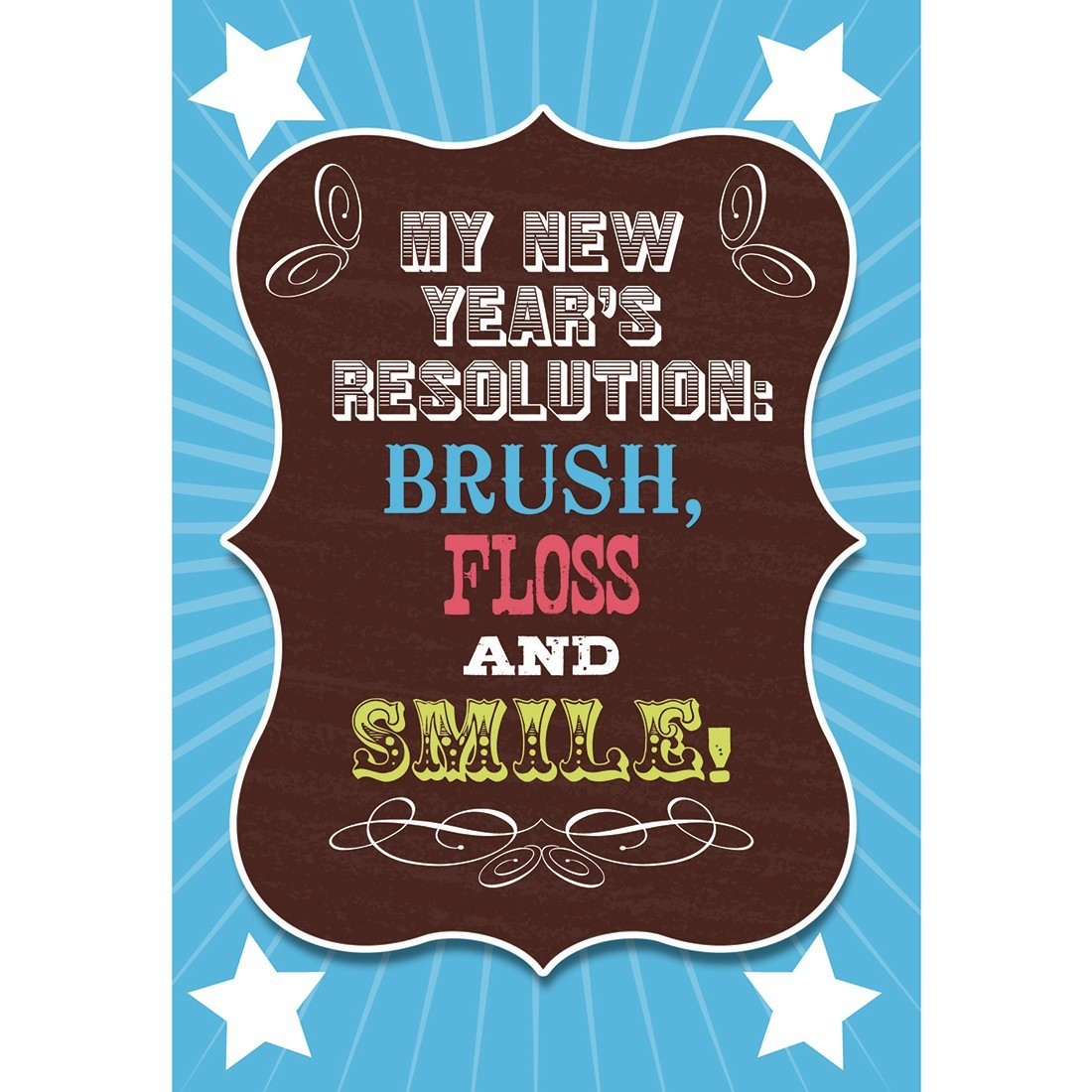 New Years Resolution Greeting Cards [image]