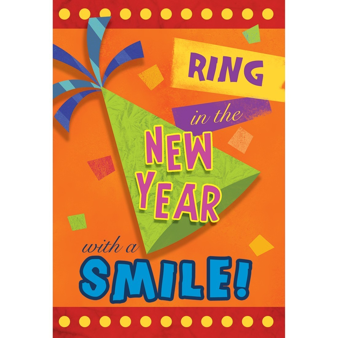 New Year Smile Greeting Cards [image]