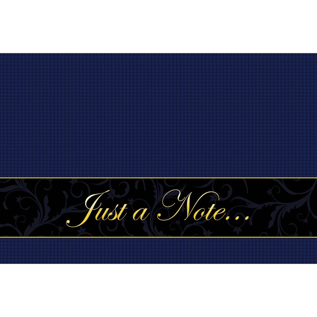 Just A Note Greeting Cards [image]