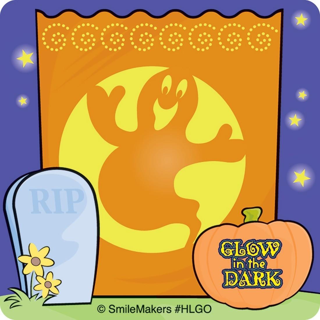 Glow in the Dark Luminaries Stickers               [image]