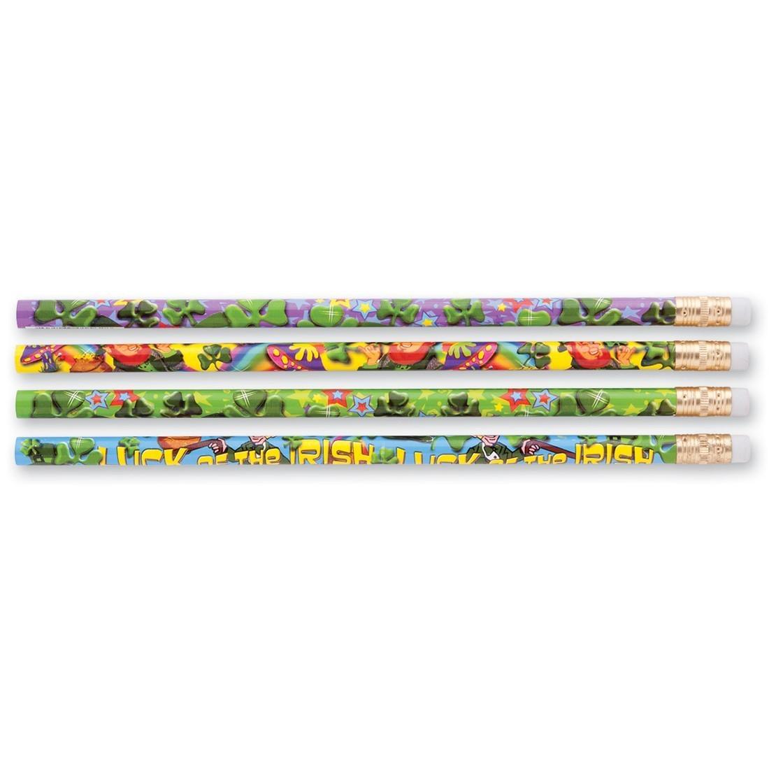 Lucky Shamrocks Pencils [image]