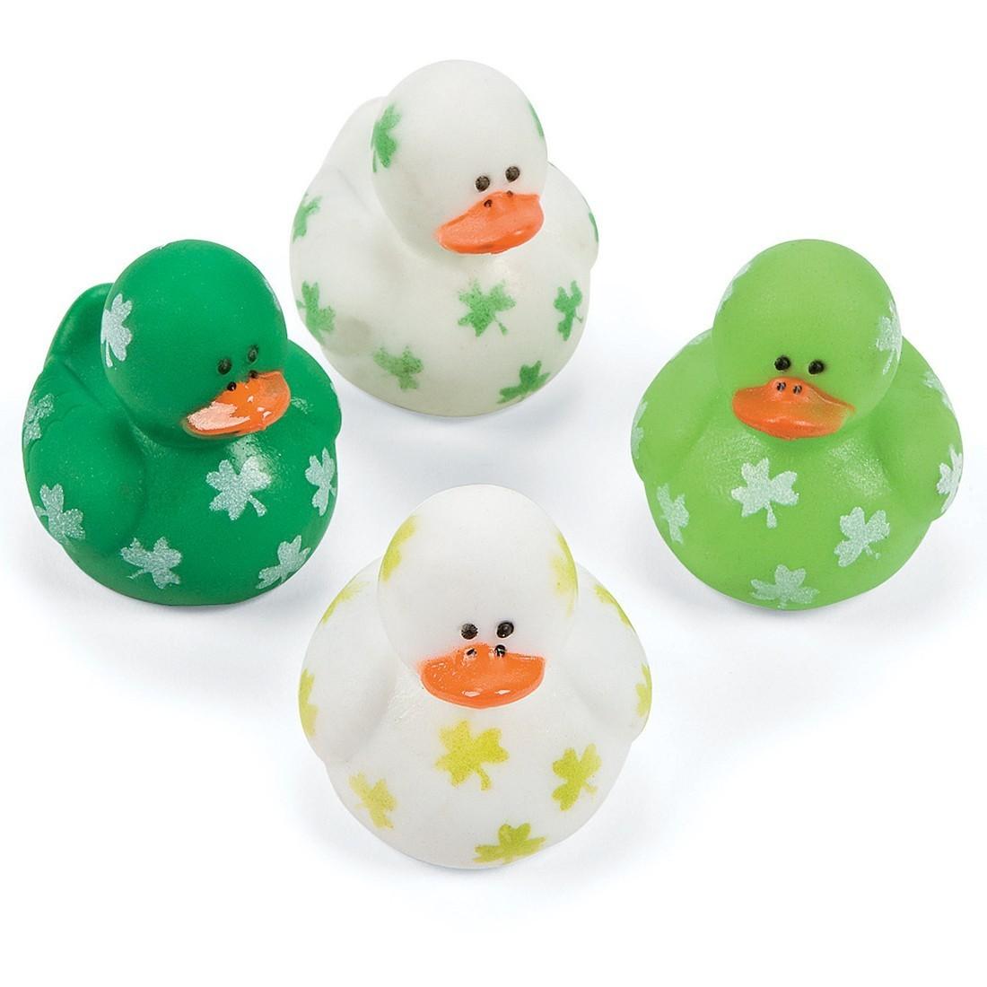 Shamrock Mini Rubber Ducks [image]
