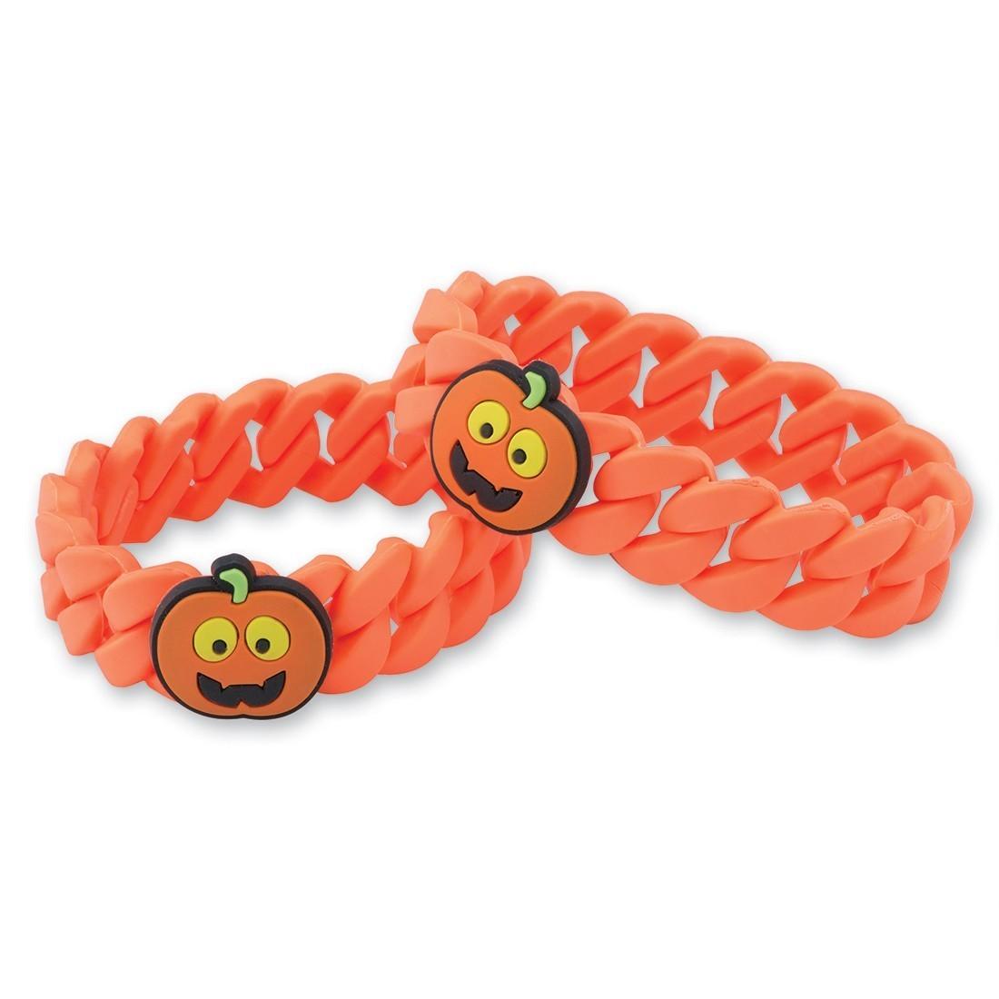 Jack O Lantern Link Bracelets [image]