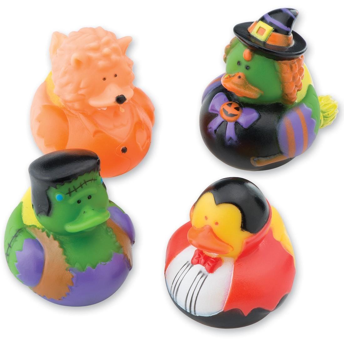 Halloween Creature Rubber Ducks [image]