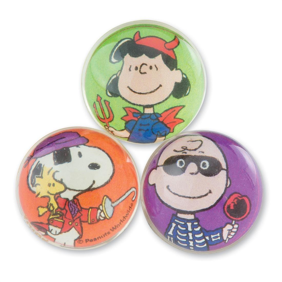 31mm Peanuts® Halloween Bouncing Balls [image]
