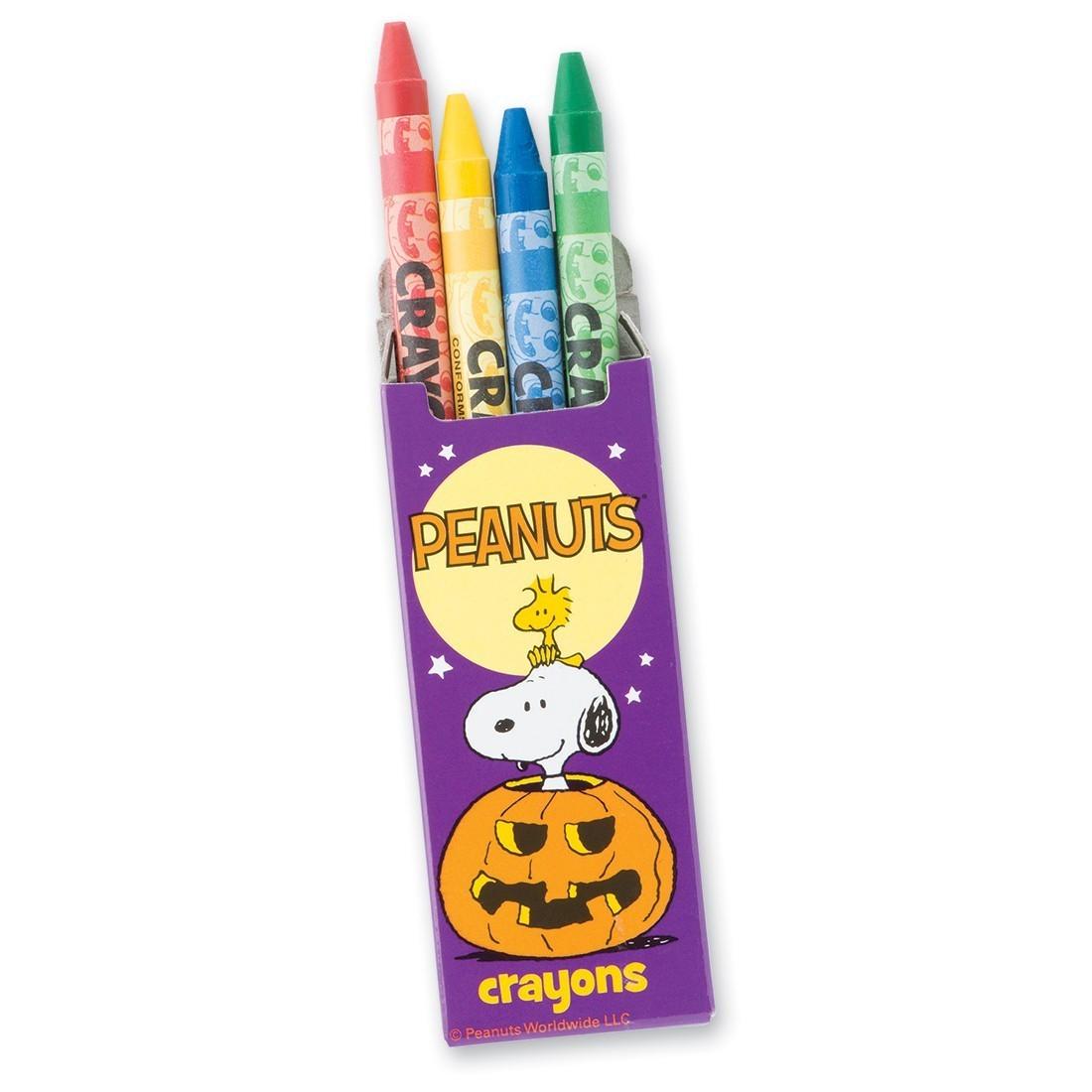 Peanuts® Halloween Crayons [image]