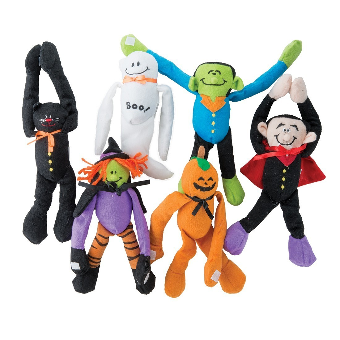 Plush Long Arm Halloween Characters - Plush Toys from SmileMakers