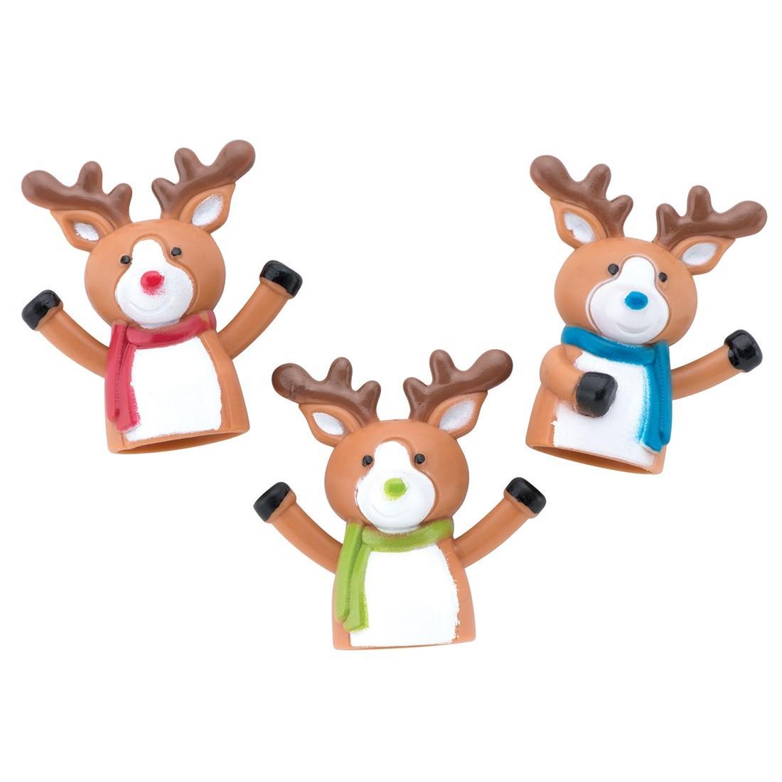 Reindeer Finger Puppets [image]