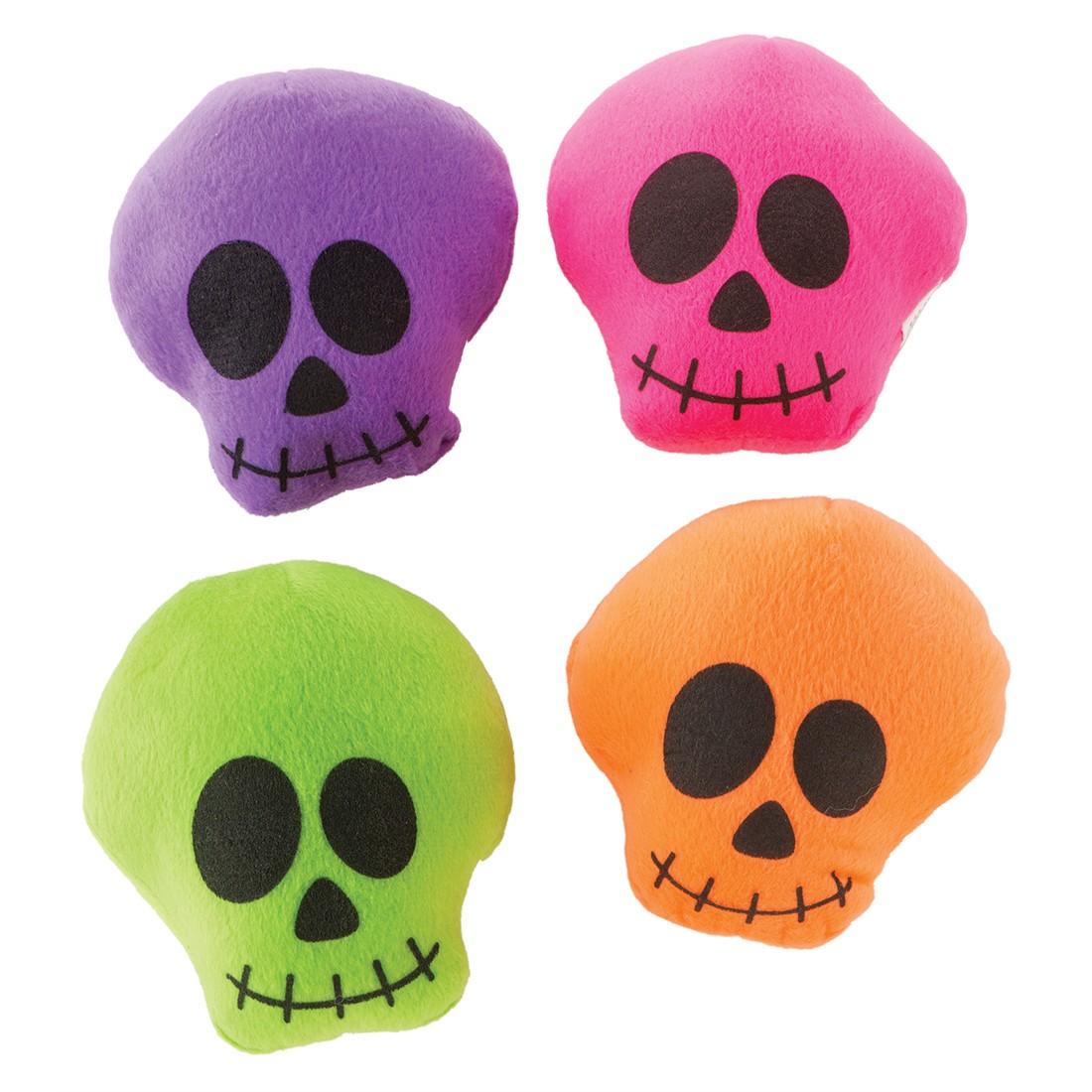 Bright Plush Skulls [image]