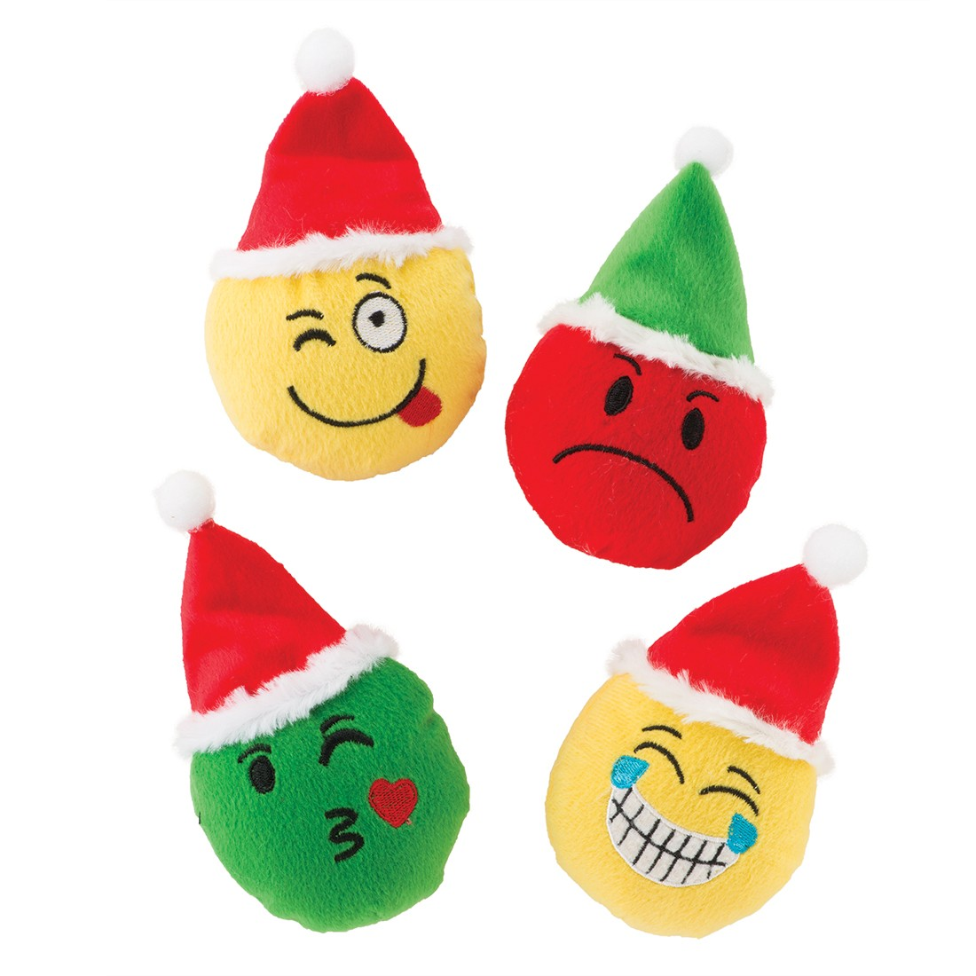 Christmas Emojis.Plush Christmas Emojis Plush Toys From Smilemakers