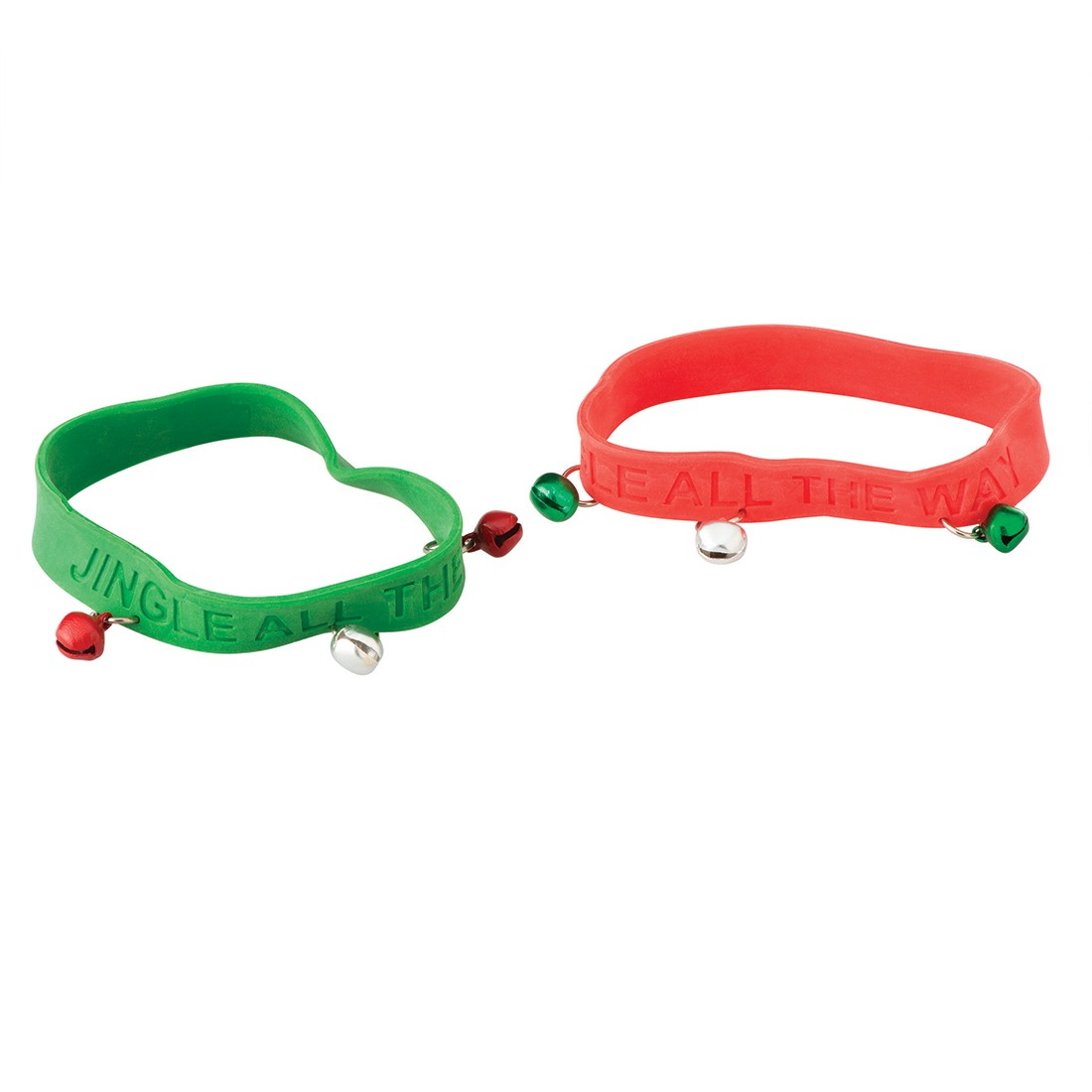 Jingle Bell Rubber Bracelets [image]