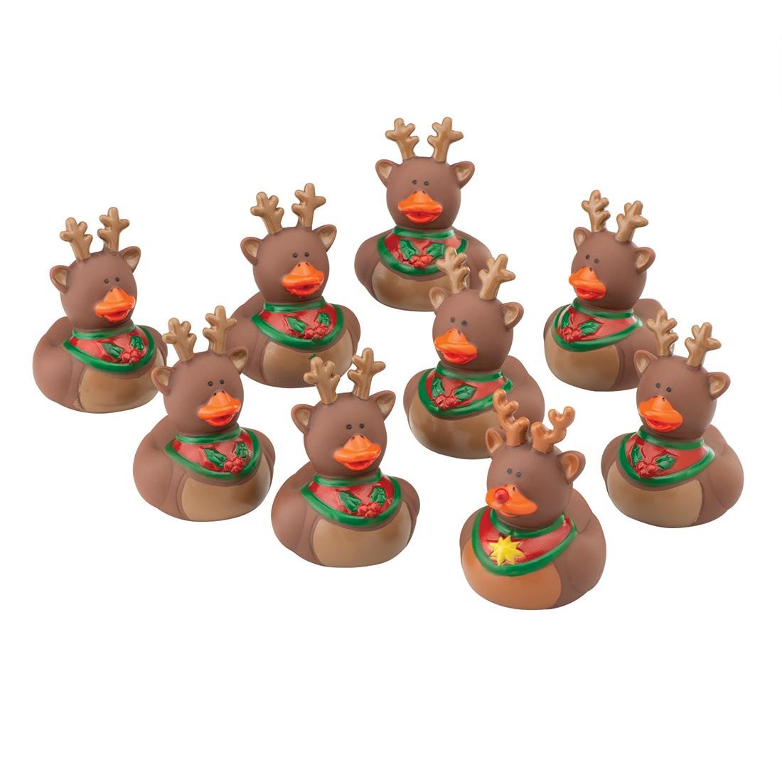 Vinyl Reindeer Rubber Ducks  [image]