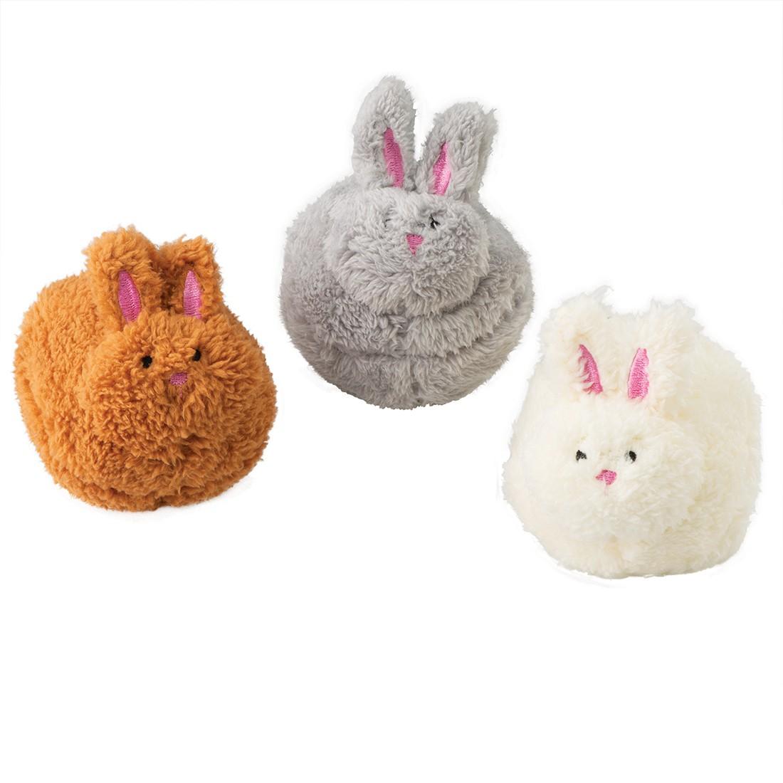 Plush Pom Pom Bunnies [image]