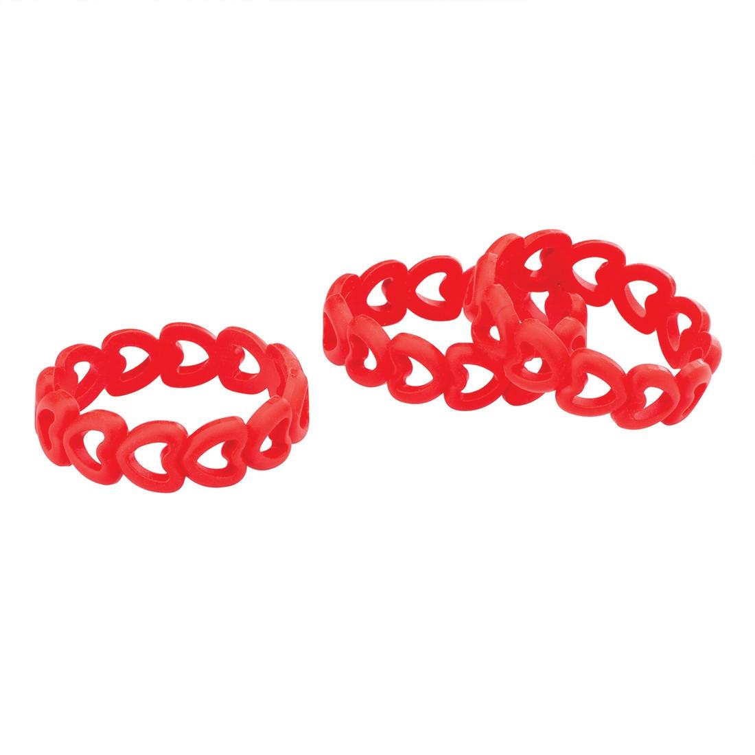 Silicone Heart Bracelets [image]