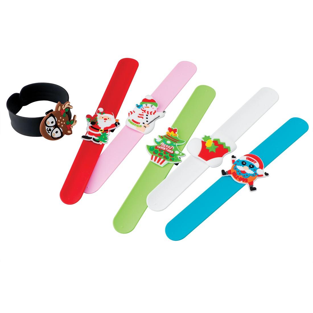 Christmas Slap Bracelets [image]