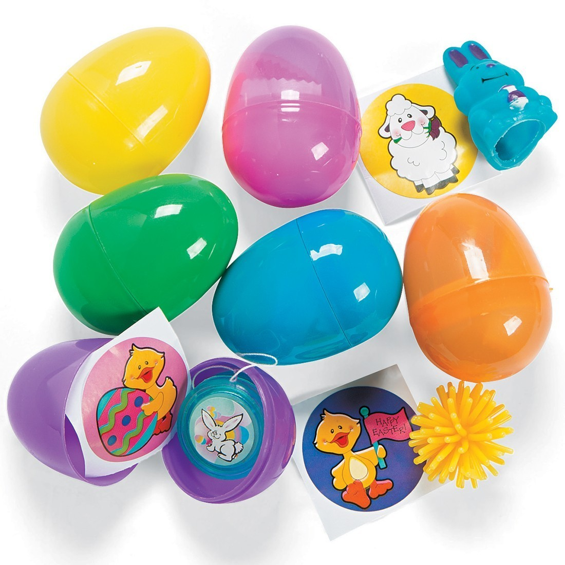 Toy Filled Easter Eggs [image]