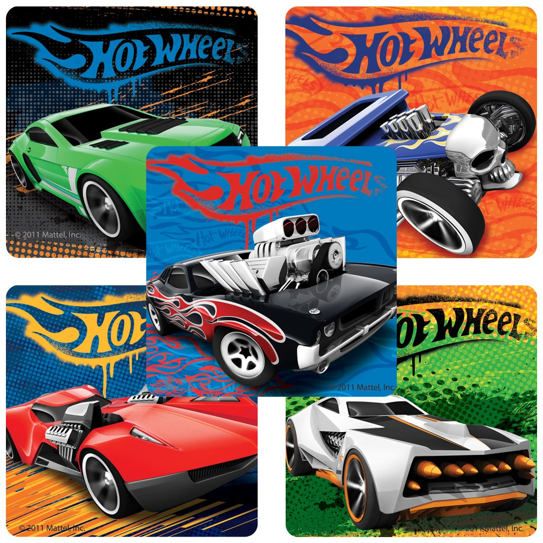 Classic Hot Wheels™ Stickers                  [image]