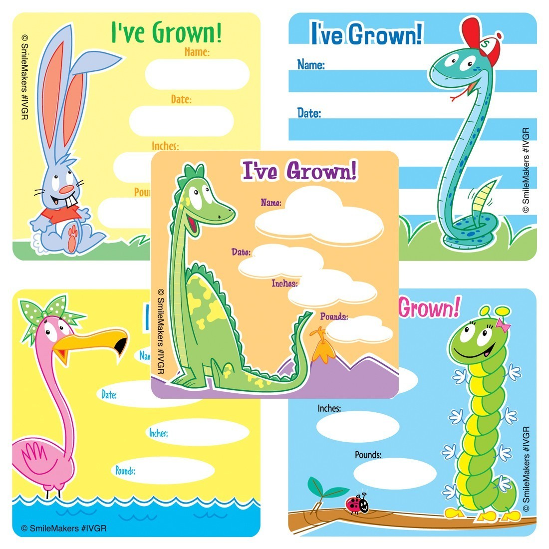 Animal I've Grown Stickers                         [image]