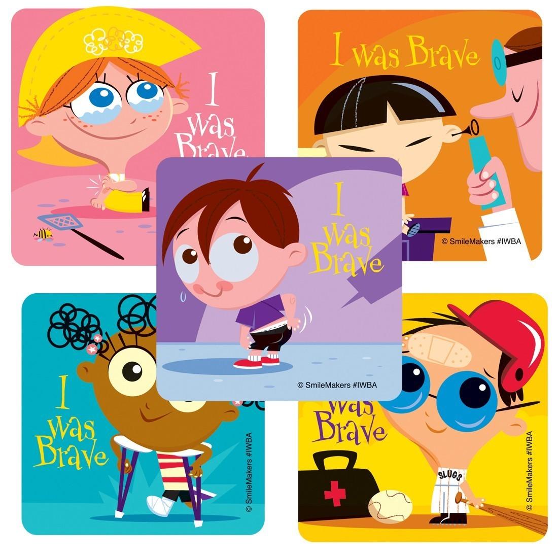 Brave Kids Stickers                                [image]
