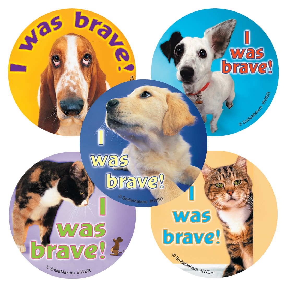 I Was Brave Stickers                               [image]