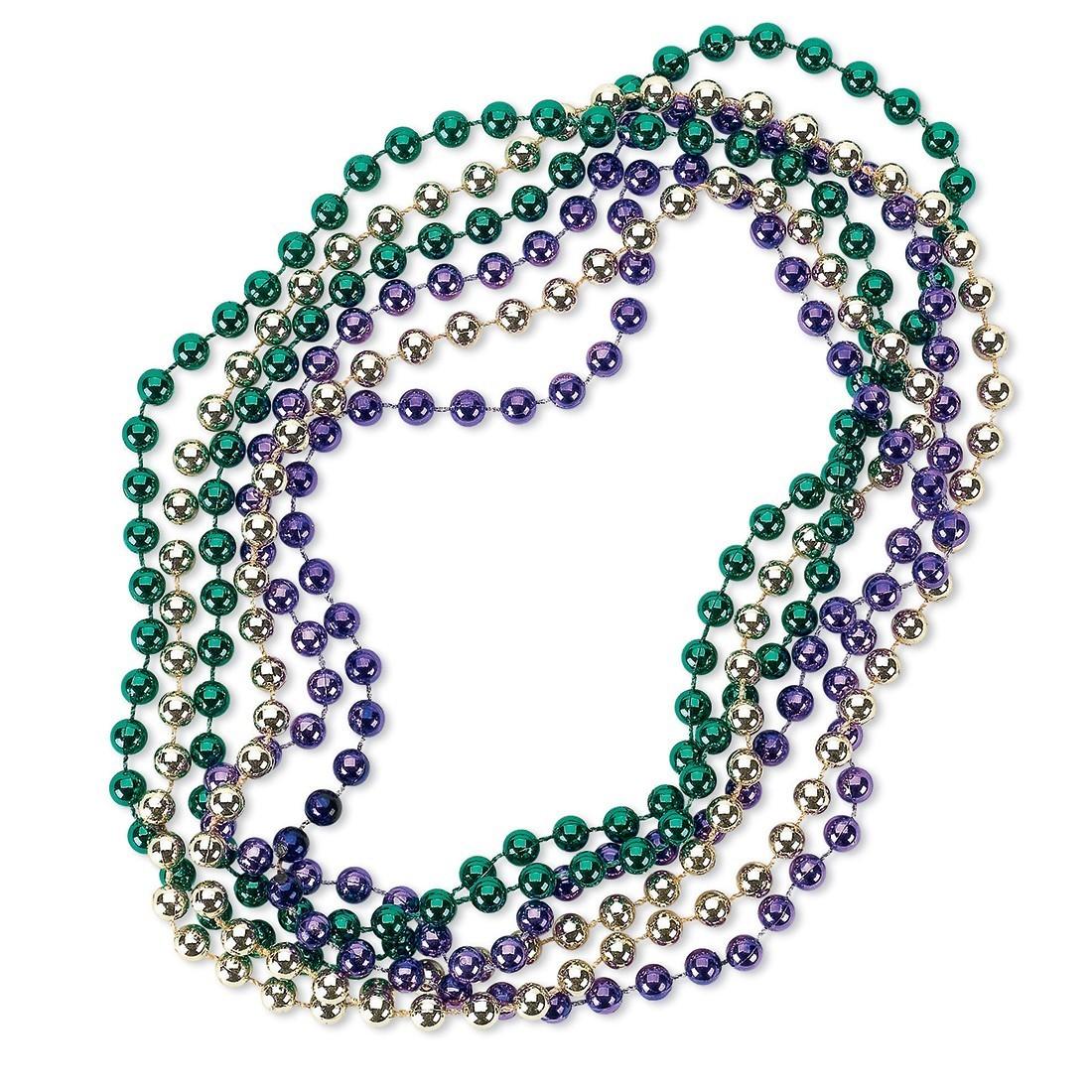 Mardi Gras Bead Necklaces [image]