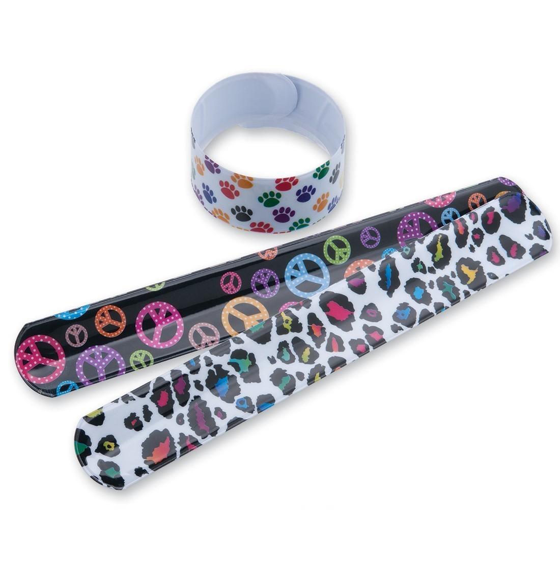 Wild Pattern Slap Bracelets [image]