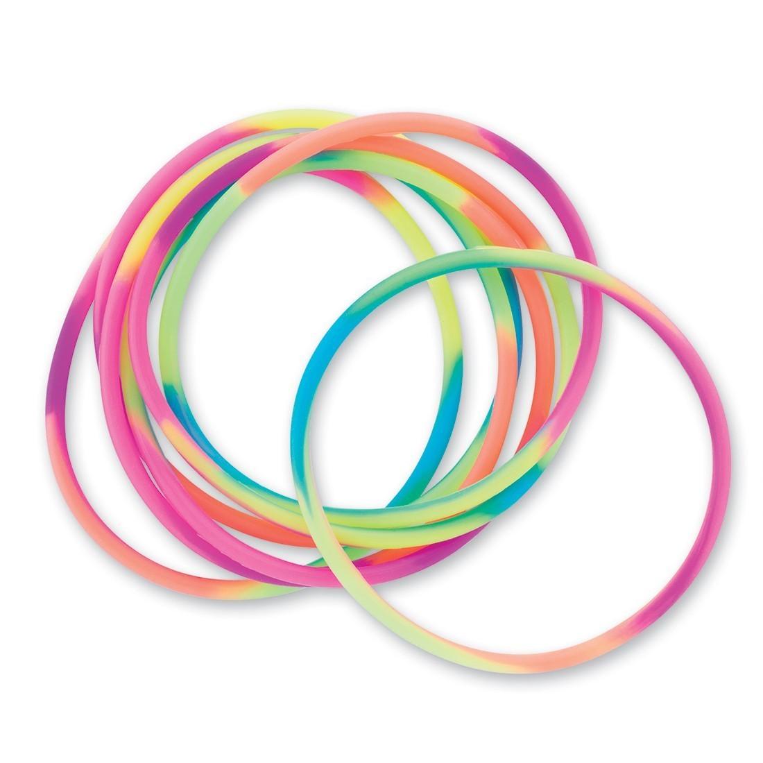 Rainbow Jelly Bracelets [image]
