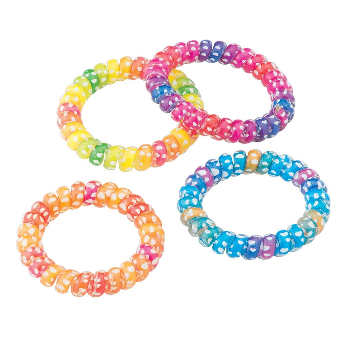 Rainbow Fun Cord Bracelets   [image]